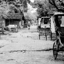 Cycle Rickshaws Were Parked