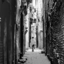 Figure In The Dark Lane @ Nepal