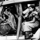 Women On The Car @ India