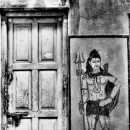Shiva Next To The Door @ India
