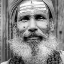 Sadhu With A Bushy Beard @ Nepal