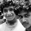 Eyes Of Three Boys @ India