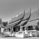 Main Hall In Wat Xieng Thong @ Laos