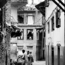 Hawker In The Alleyway @ Nepal