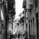 Lane Of The Old City @ Nepal