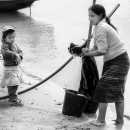 Mother Was Washing @ Laos