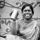Cup, Front Teeth And Smile @ India