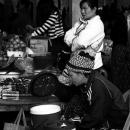 Women Working At The Market @ Laos