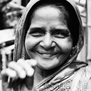 Full Smile Of A Woman @ India