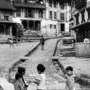 Little Girls In The Street @ Nepal