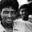 Man And White Teeth @ India