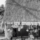General Store With The Thatch Roofing @ Laos