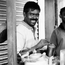 Smile At A Chai Stand