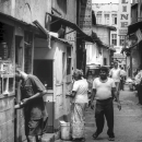 People In The Narrow Street @ Sri Lanka