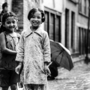 Two Smiles In The Lane @ Nepal