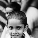 Boy With Close-cropped Hair @ India