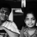 Father And Daughter @ Sri Lanka