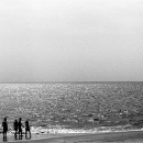 Silhouettes On The Beach @ Sri Lanka