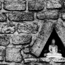 Image Of Buddha In A Triangle