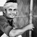 Man Enjoying Drinking Chai