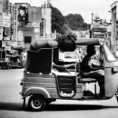 Three Wheeler Was Running @ Sri Lanka