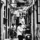 Postal Deliverer In The Lane @ China