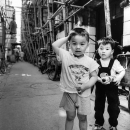 Two Boys In The Alleyway @ China