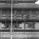 Facade Of Bagh Bhairab Temple @ Nepal