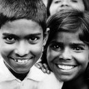 Smiles Of Boy And Girl @ India