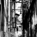 Chink Between Buildings