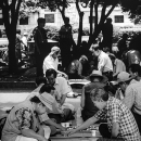 Men Playing Go In The Park