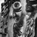 Wide-eyed Wooden Faces