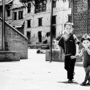 Little Boy And Little Girl In The Courtyard @ Nepal