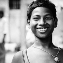 Brisk Smile Of A Boy @ India