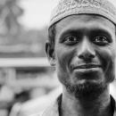 Full Smile Wearing A Taqiyah