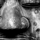 Face Of The Great Buddha