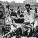 Sitting Oarsmen And Standing Passenger @ Bangladesh