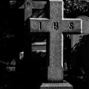 Two Crosses In Yokohama Foreign General Cemetery
