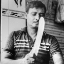 Butcher Holding A Big Knife @ Bangladesh