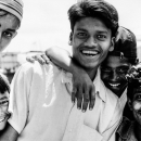 Smile Of Clustered Young Men @ Bangladesh