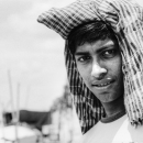 Young Man With A Cloth On The Head @ Bangladesh