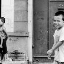 Smirking Grin Of A Boy @ Philippines