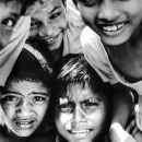 Packed Face Of Boys @ Bangladesh
