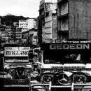 Jeepneys With Emblems Of Benz @ Philippines