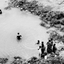 People In The Armlet Of The River @ India