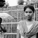 Girl Standing Erect @ India