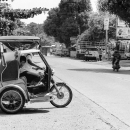 Men On The Trishaw @ Philippines