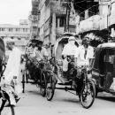 Cycle Rickshaws And An Auto Rickshaw