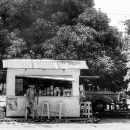 Man Standing At A Kiosk @ Philippines