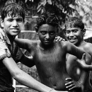 Boys Standing In The Rain @ India